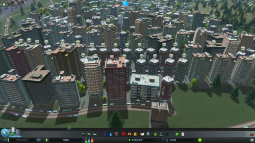 A lot of complaints in the residential neighbourhood with high rise buildings.